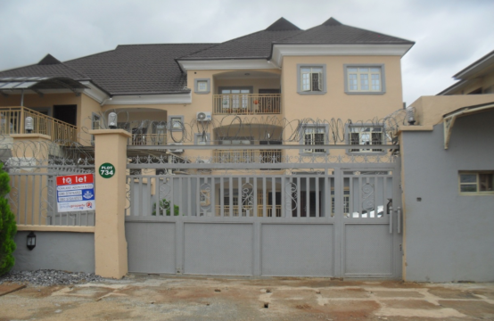3-Bedroom Luxury Apartment (Plot 734, Durumi District, Area 1, Abuja)